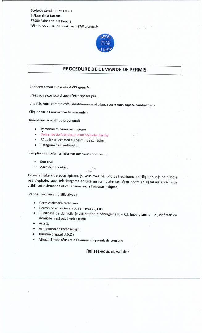 Ecole De Conduite Moreau Auto Ecole A Saint Yrieix La Perche Et Nexon